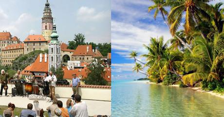10 райских мест, куда можно перебраться, имея в запасе совсем скромные запасы денег