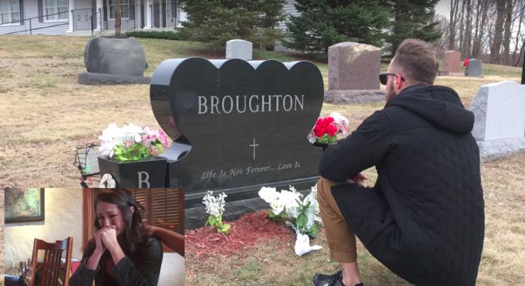 Ее отец умер 9 лет назад. Однажды она увидела, что на его могиле преклонил колено совершенно незнакомый ей человек…