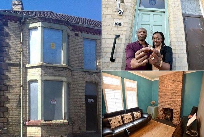 Они купили заброшенный дом за 1 фунт. Только взгляните во что они превратили его!