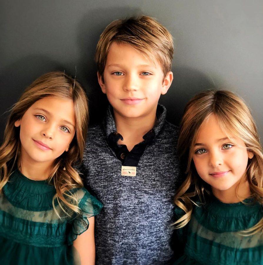 Эта семейная пара является родителями самых красивых детей в мире