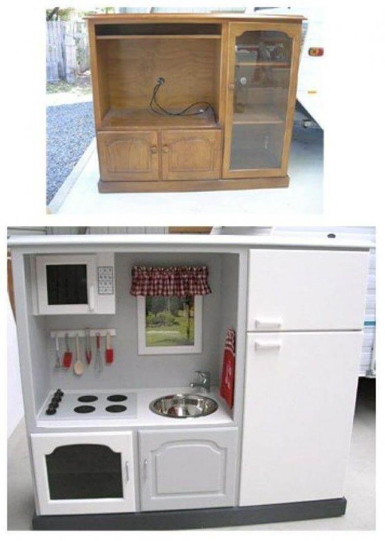 Никогда не думал, что из старой мебели можно такое сделать!