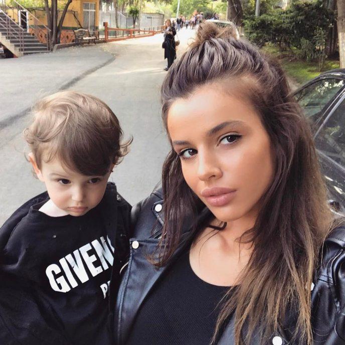Самая красивая пара Грузии показала снимки своего малыша. Чудесная семья!