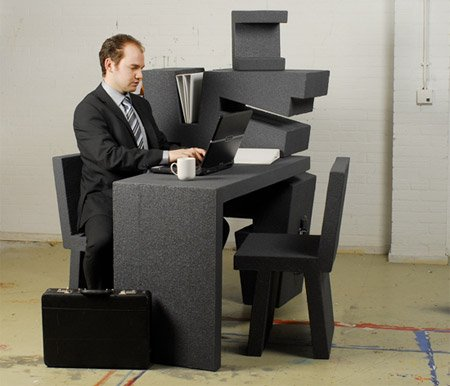 удивительный офис от Тима Винке