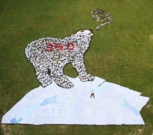 изображение на Земле Дэниела Дансера белый медведь