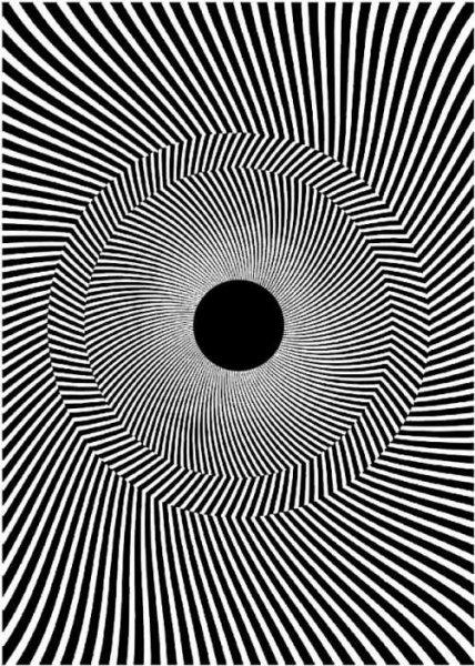 Как рисовать рисунки обман зрения