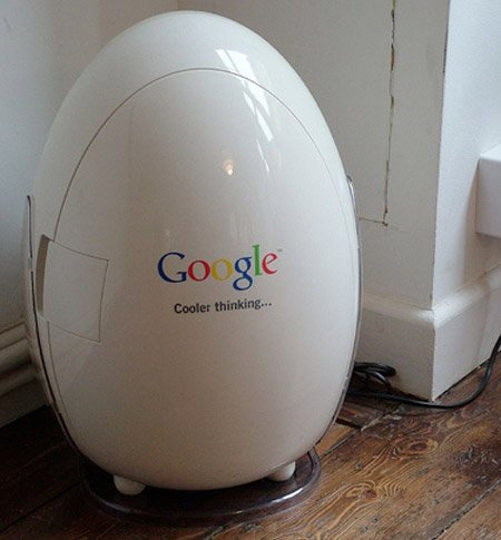 Яйцо гуглл холодильник