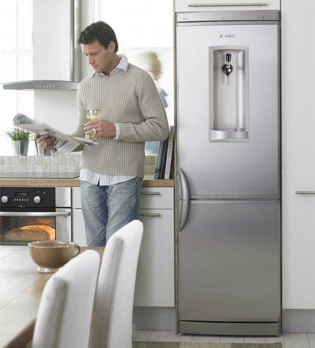 Пивной холодильник с краном