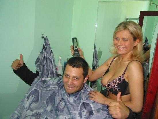 Парикмахерши голые фото