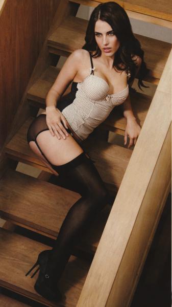 Джессика Лоундс в нижнем белье