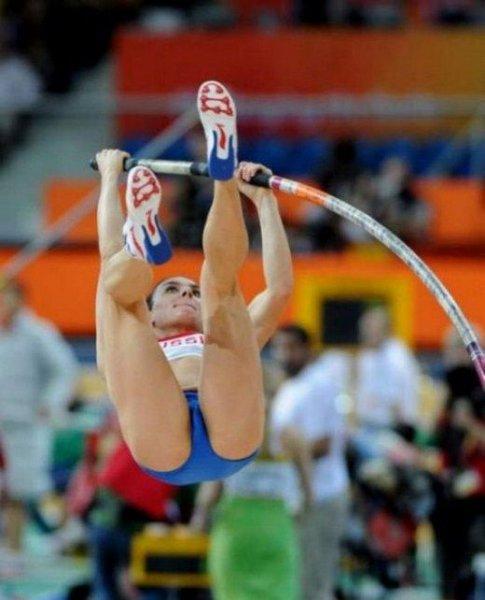 Девушки занимающиеся легкой атлетикой. Красивые, стройные и сильные - тако