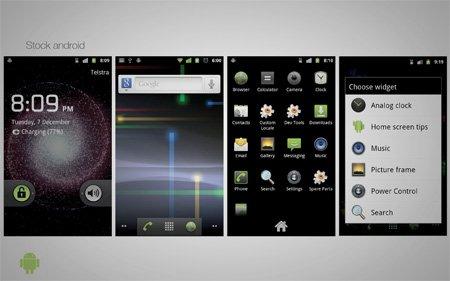 андроид смартфон с тремя дисплеями