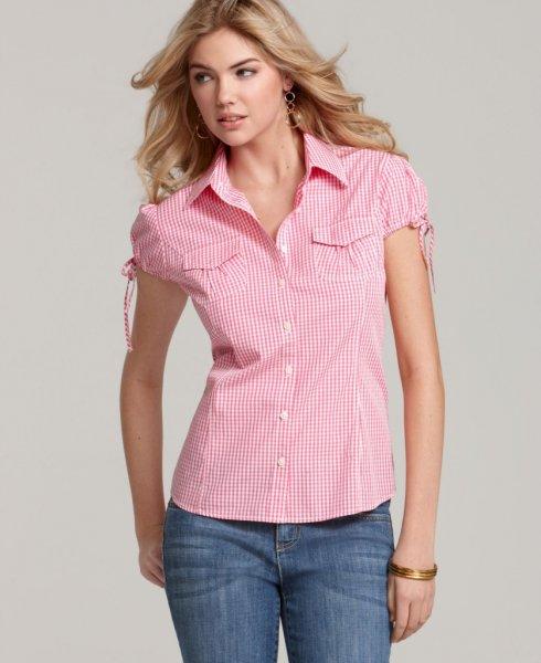 Кейт Аптон реклама рубашек