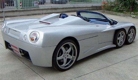 спортивный автомобиль Covini C6W