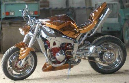 Творческие мотоциклы (130 фото)