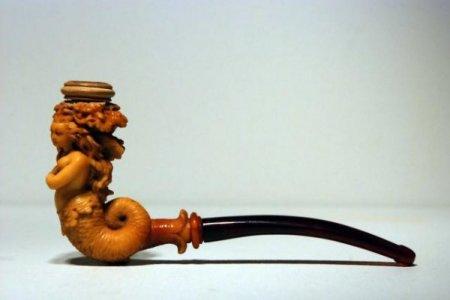 Старинные курительные трубки (16 фото)