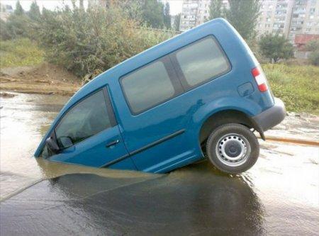 Не разъехались или уроки мастерства вождения (28 фото)