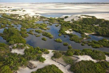 Бразилия песчаные дюны (11 фото)