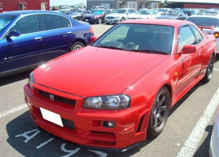 Nissan Skyline как это было (20 фото)