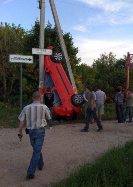 Фотоподборка авто аварий за неделю (35 фото)
