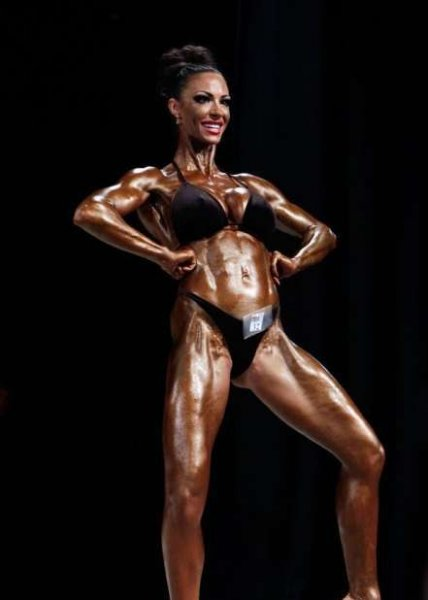 Джоди Марш стала бодибилдершей (20 фото) .