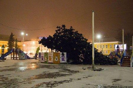 Курьез в Петрозаводске (4 фото)
