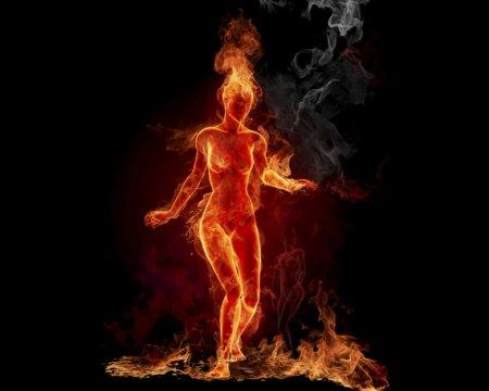 Огненные картинки (12 фото)