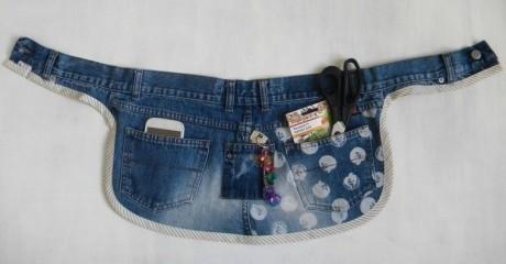 Органайзер из старых джинсов