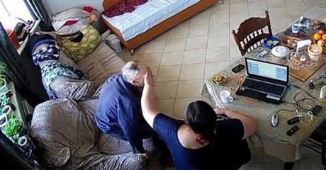 Дочь установила в доме камеру. Увидеть такое она точно не ожидала…