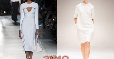 Модные коктейльные платья 2018-2019 года