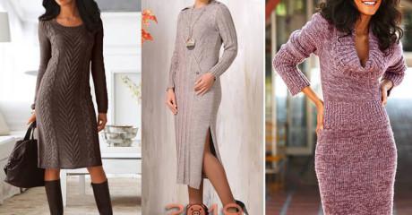 Цен на модные новинки платьев 2018-2019 года, коллекции осень-зима