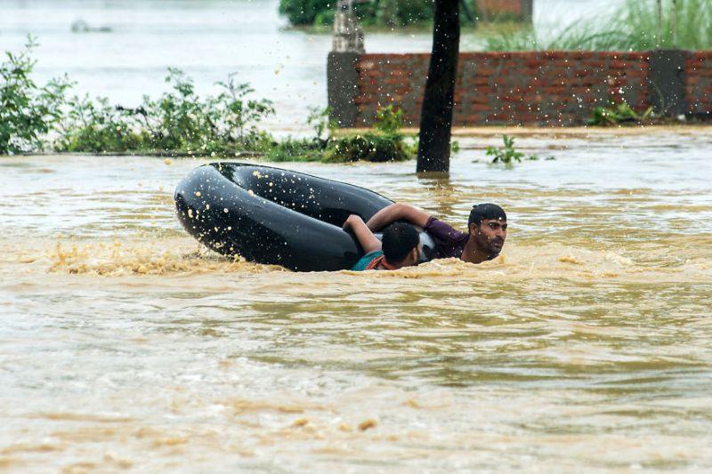 25 Фотографий После Потопа В Южной Азии