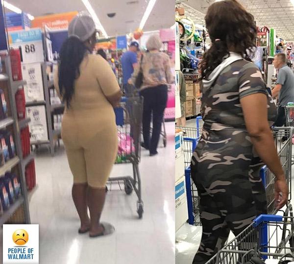Эксцентричные покупатели американских супермаркетов