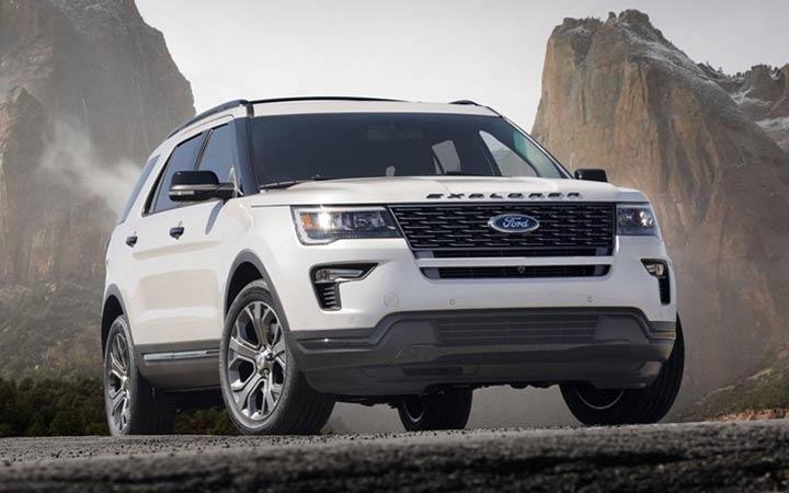 Ford Explorer 2019 года