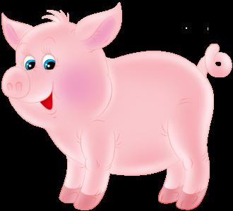 Картинки новогодние с символом 2019 года – Свиньей