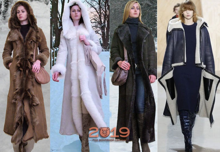 Модные дубленки осень-зима 2018-2019 года
