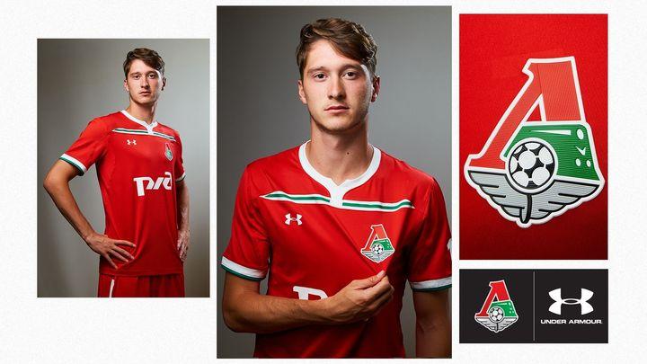 Новая форма ФК Локомотив на 2018-2019 год