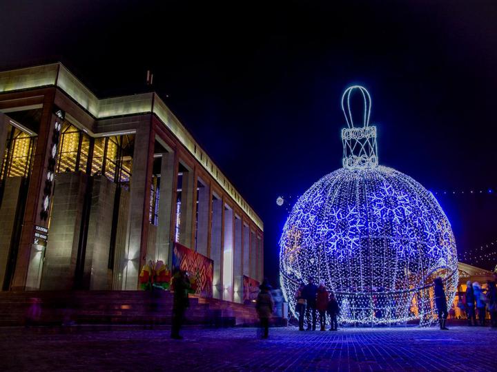Новый 2019 год в Минске