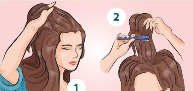 Как придать объем волосам за 5 минут