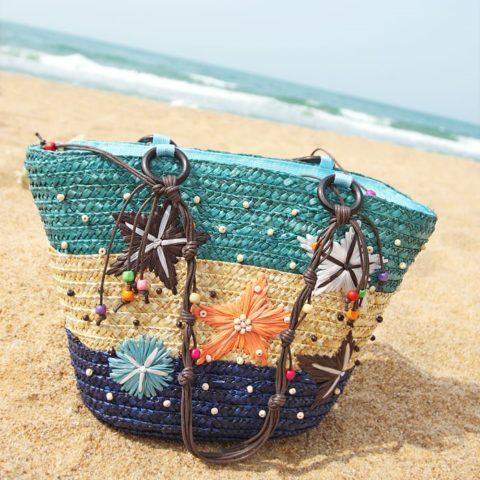 Чем украсить сумку для пляжа