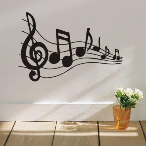 Как украсить комнату музыканта