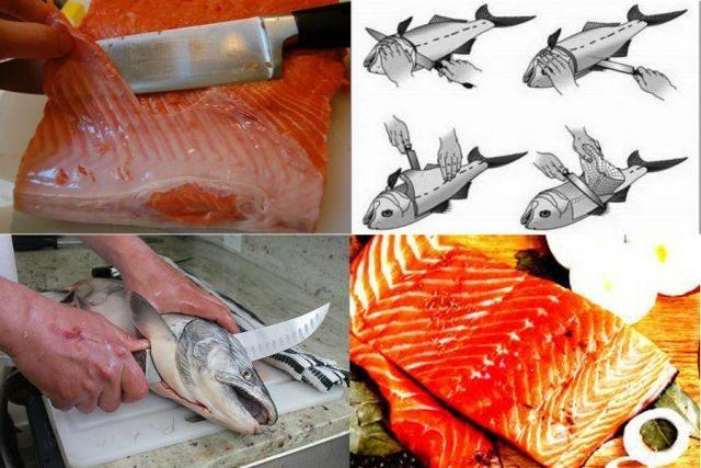 Способы разделки рыбы