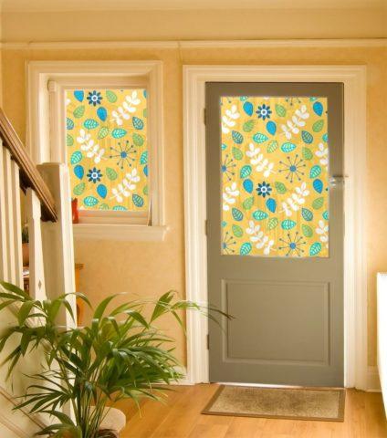 Как оригинально украсить межкомнатные двери