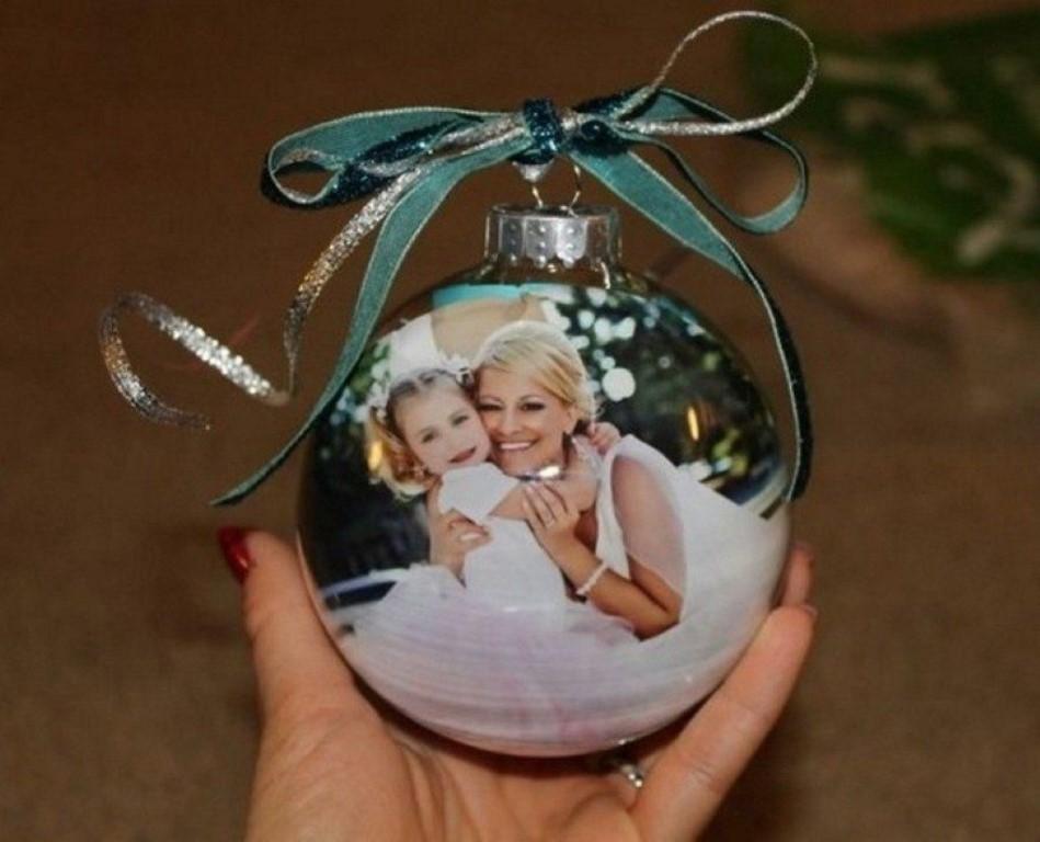 как сделать новогодние шары с фотографией внутри иногда получала денежные