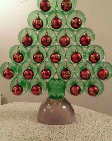 Скоро Новый год. Я предлагаю украсить свой дом очень креативной и красивой елочкой