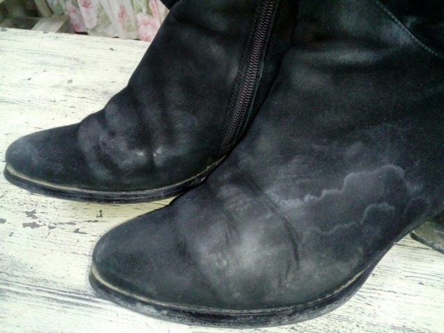 Защищаем обувь от соли на дорогах