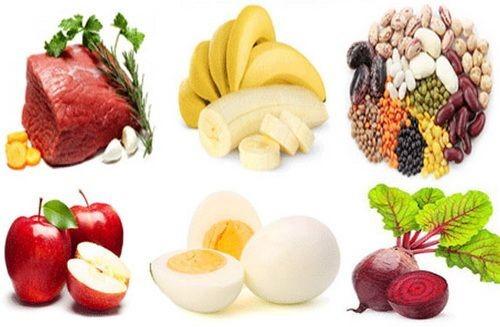 Полезные продукты при кровопотери