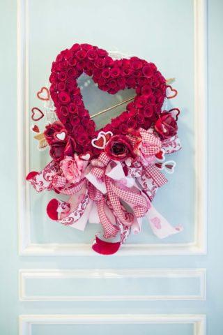 Украшение жилища ко Дню святого Валентина