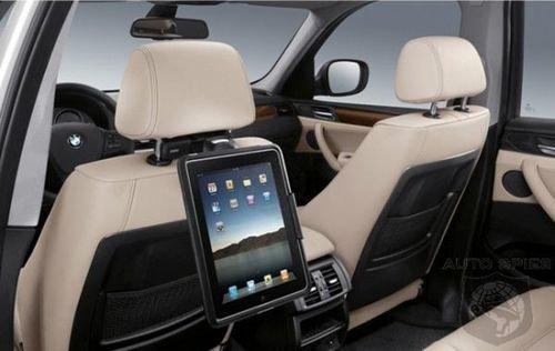 Док-станции для iPad в автомобилях BMW