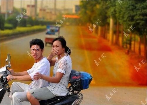 Кислотные туманы в Китае (13 фото)
