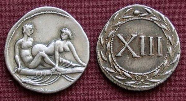 Древнеримские монеты (10 фото)